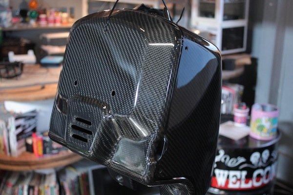 画像1: ZOOMER/RUCKUS Carbon Front BOX (1)