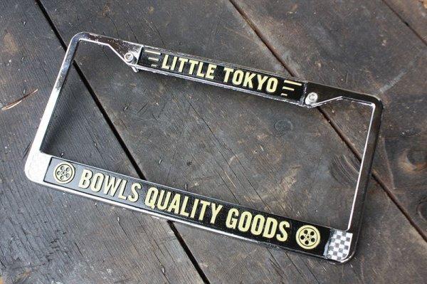 """画像1: BOWLS """"Quality Goods""""  LP Frame 【"""" Auto """" Frame For US Car 】 (1)"""