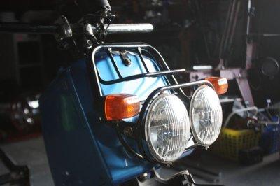 画像3: ZOOMANIA Headlight lowered bracket / ズーマニア ヘッドライト ロワードブラケット