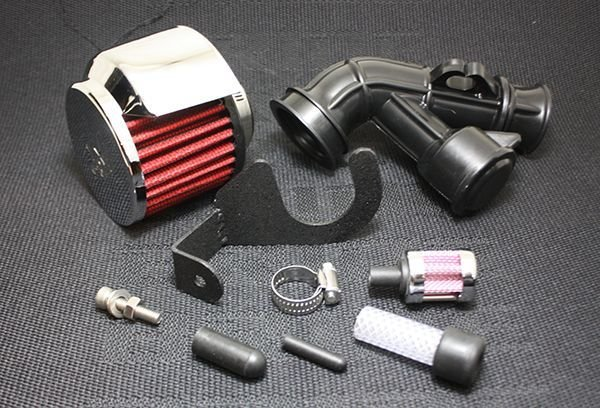 画像1: ZOOMANIA Power Filter kit K&N ver. (for Carburetor) (1)