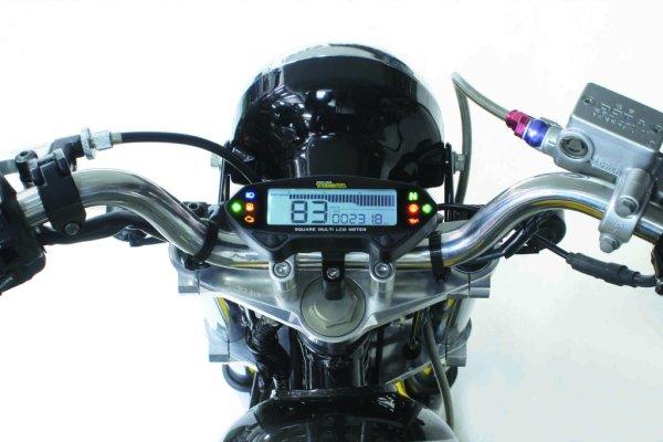 画像1: TAKEGAWA Square Multi LCD Meter / SP武川 スクエア マルチ LCD メーター (1)
